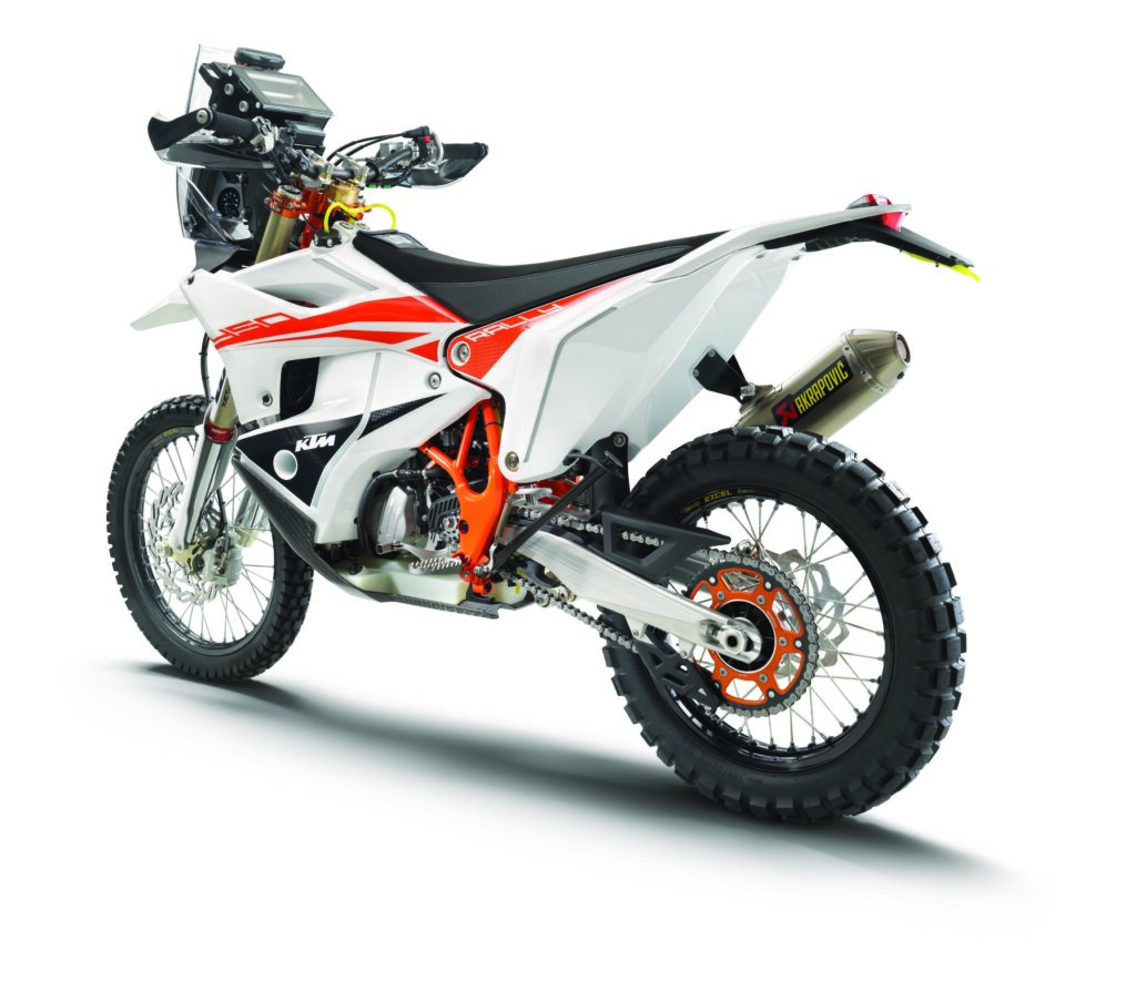 KTM 450 RALLY REPLICA 2021 left rear
