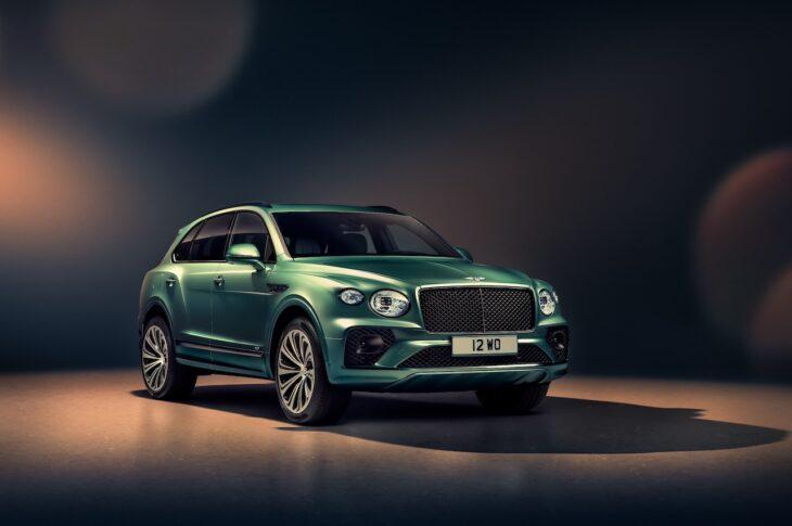 New Bentley Bentayga - Alpine Green