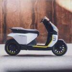 Husqvarna Vektorr concept electric scooter