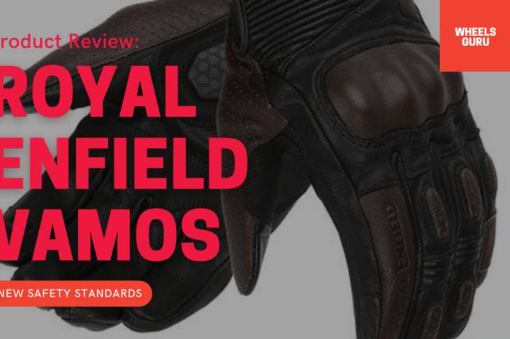 Royal Enfield Vamos Knox Certified Gloves
